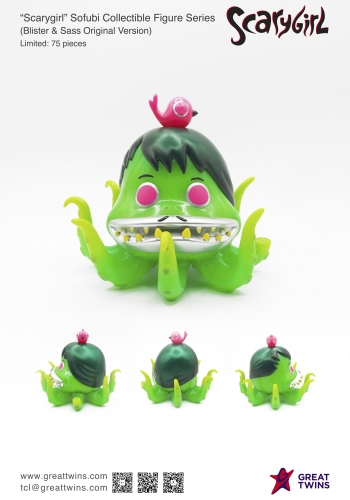 Scarygirl Sofubi Collectible Figure Series (Blister Sass Original Version)