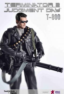 Twelfth Scale Supreme Action Figure (Terminator 2 Movie - T-800)_2