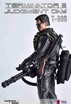 Twelfth Scale Supreme Action Figure (Terminator 2 Movie - T-800)_3