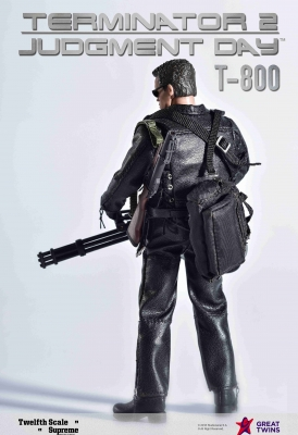 Twelfth Scale Supreme Action Figure (Terminator 2 Movie - T-800)_4