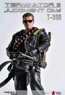Twelfth Scale Supreme Action Figure (Terminator 2 Movie - T-800)_5
