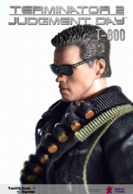 Twelfth Scale Supreme Action Figure (Terminator 2 Movie - T-800)_6